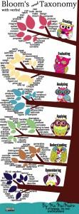 MacMeekin's infographic on Blooms 'revised' Taxonomy