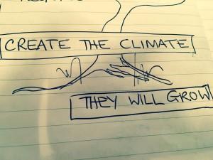 Create the climate